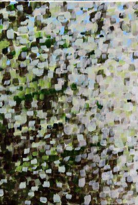 Dark Windy Hills Acrylic on Canvas 18″ x 24″