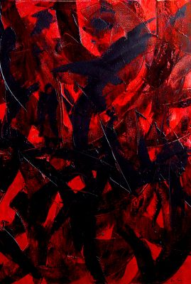 "Good Bye Oil on Canvas 30"" x 40"""