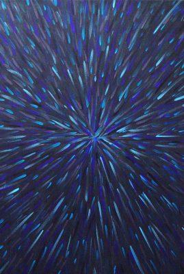 Radiation Grey 40″ x 40″ Oil on Canvas