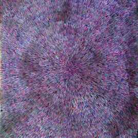 Radiation Violet 24″ x 36″ Oil on Canvas