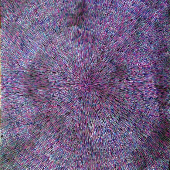 Radiation Violet 24″ x 36″ Oil on Canvas