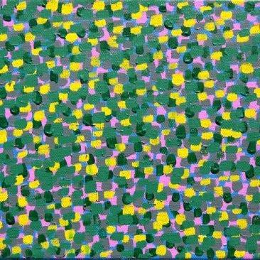 "My Old Sadness Acrylic on Canvas 12"" x 9"""