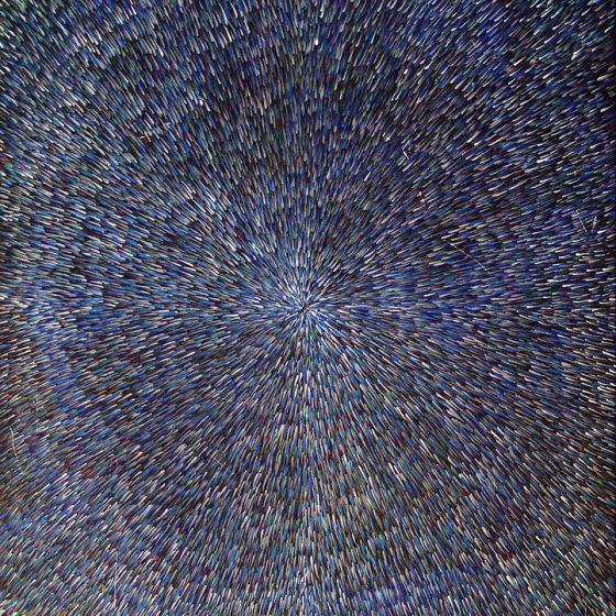 Night Radiation 33″ x 44″ Oil on Canvas