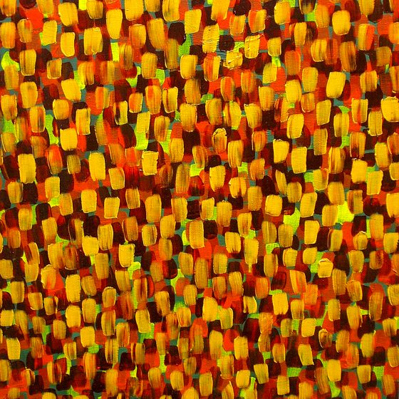 """Autumn, Darkening Now Oil on Canvas 16"""" x 20"""" x 1"""""""