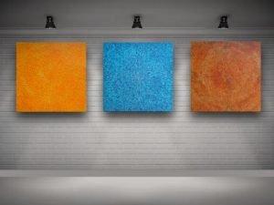Su Gaia Triptych
