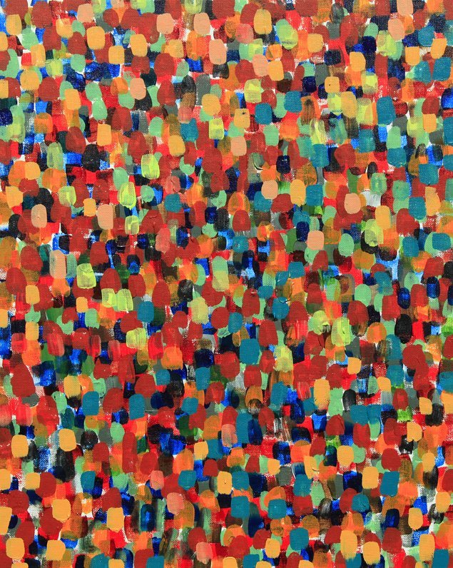 """We Part Without Regrets Acrylic on Canvas Panel 16"""" x 20"""""""