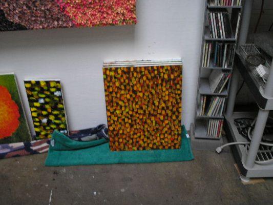 Inside my studio.