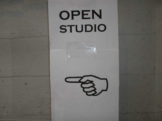The studio is now open.