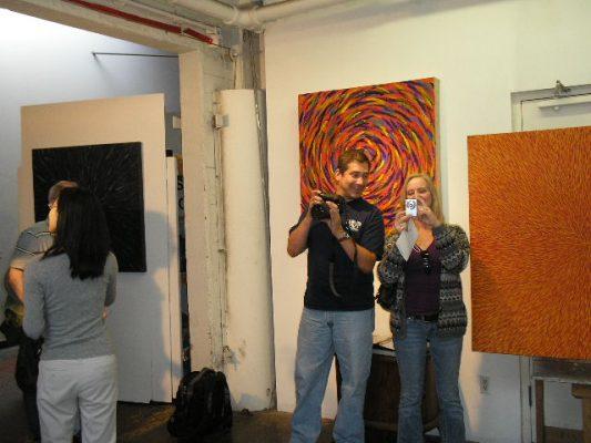 A group inside my studio.